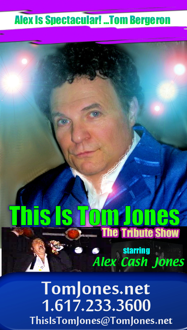 THIS IS... THE # 1 TOM JONES IMPERSONATOR ..BEST TOM JONES TRIBUTE ARTIST... NOBODY COMES CLOSER....A POWERFUL ENTERTAINER!!!!
